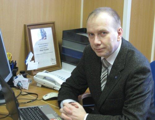 Васильев А.А. на своём рабочем месте в СоюзБалтКомплекте